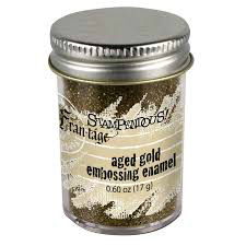 Stampendous Embossing Enamel - Aged Gold