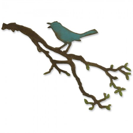 Tim Holtz Sizzix Birds Branch - 657833