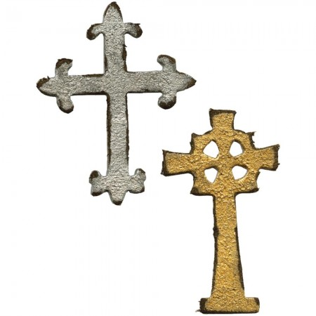 Tim Holtz Die Mini Ornate Crosses