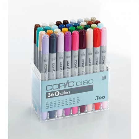 Copic Ciao 36E colors