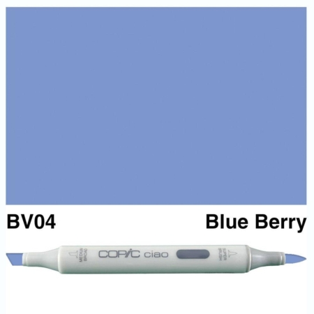 Copic Ciao - Blue Berry - BV04