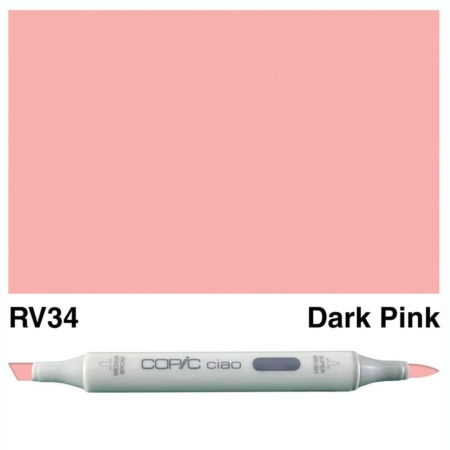 Copic Ciao - Dark Pink - RV34