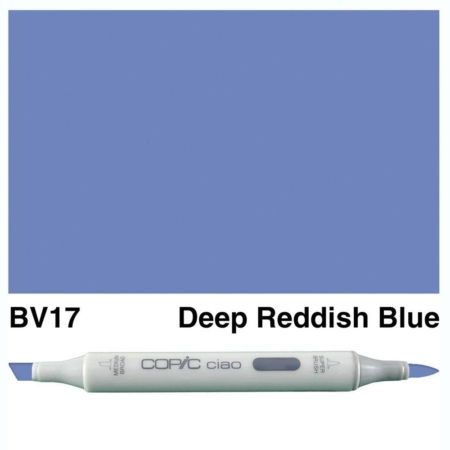 Copic Ciao - Deep Reddish Blue - BV17