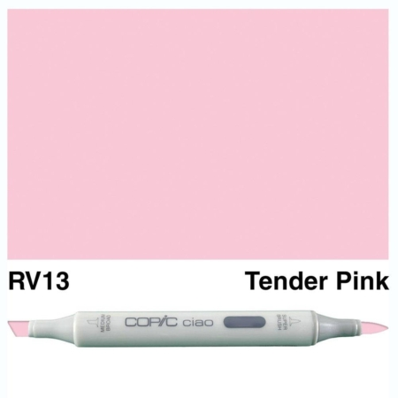 Copic Ciao - Tender Pink - RV13