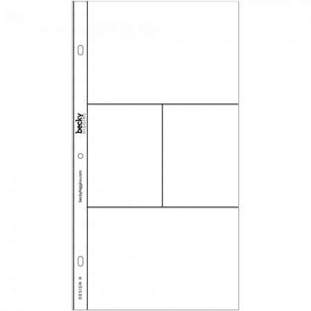 Project Life Photo Pocket Pages - Design H - 380011