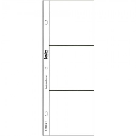 Project Life Photo Pocket Pages - Design I - 380012