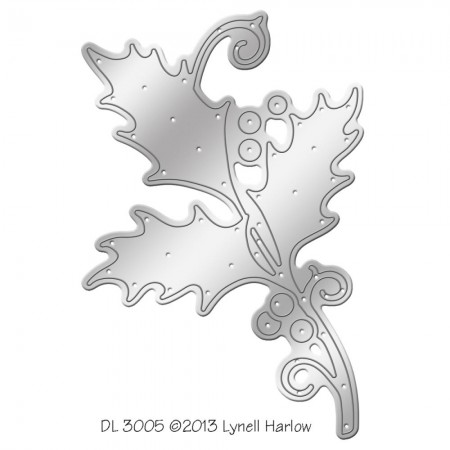 Dreamweaver - Dies - Holly Die Cut