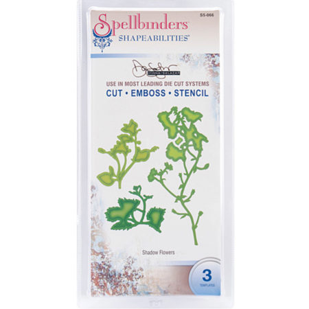 Spellbinders Shadow Flowers