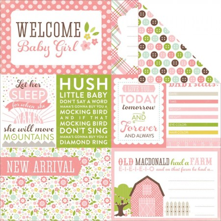 Echo Park - Bundle Of Joy Girl Baby Girl - Welcome