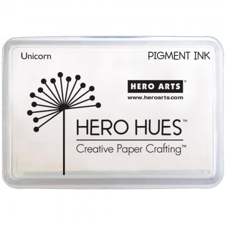 Hero Arts - Hero Hues Pigment Ink Pad - White