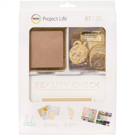 Project Life - Heidi Swapp -Kraft W/Foil kit
