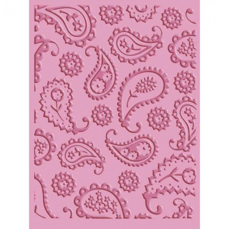 Cuttlebug A2 Embossing Folder - Perfectly Paisley embossing folders
