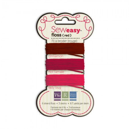 We R Memory Keepers Sew Easy Floss - Red