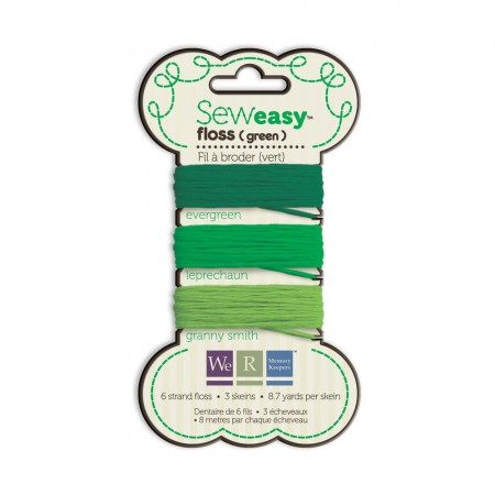 We R Memory Keepers Sew Easy Floss - Green