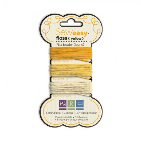 We R Memory Keepers Sew Easy Floss - Yellow