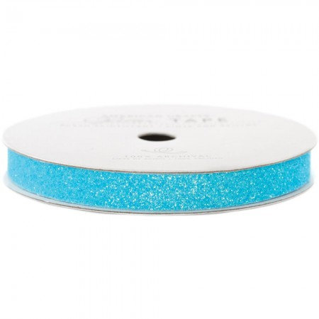 American Crafts Glitter Paper Tape - Powder glitter tape