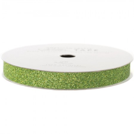 American Crafts Glitter Paper Tape – Spinach glimmer tape