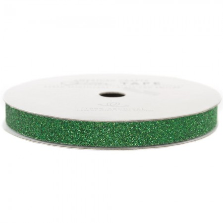 American Crafts Glitter Paper Tape - Evergreen