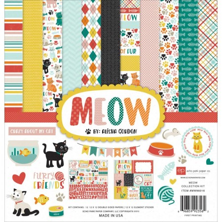 Echo Park Paper - Collection Kit - Meow