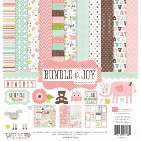 Echo Park Paper - Bundle Of Joy Girl kit