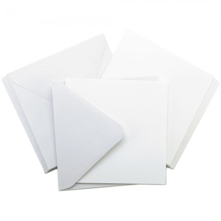 Kaisercraft - Card Pack Square - White