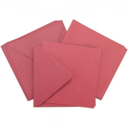 Kaisercraft - Card Pack Square -Red