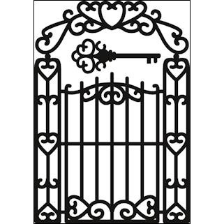 Marianne Design Dies - Garden Gate - CR1304