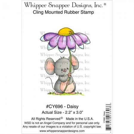 Whipper Snapper Designs-Cling Stamp – Daisy