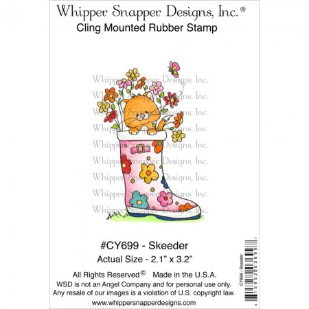 Whipper Snapper Designs-Cling Stamp – Skeeder