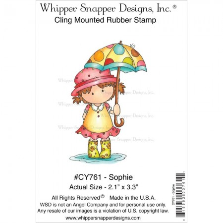 Whipper Snapper Designs-Cling Stamp – Sophie