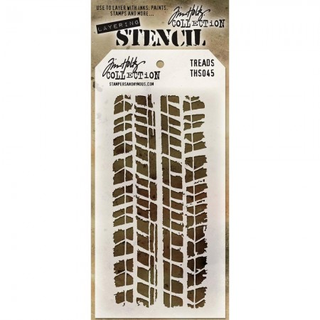 Tim Holtz - Layered Stencil - Treads - THS045