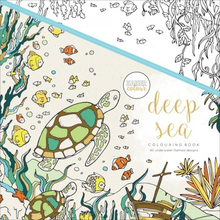 KaiserCraft - Coloring Book - Deep Sea