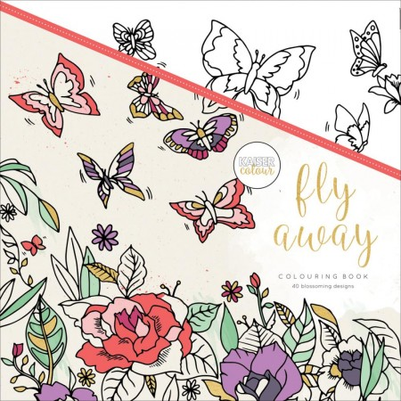 KaiserCraft Coloring Book - Fly Away