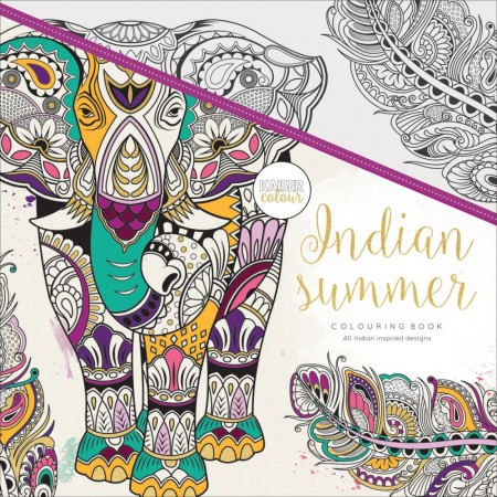 KaiserCraft Coloring Book - Indian Summer