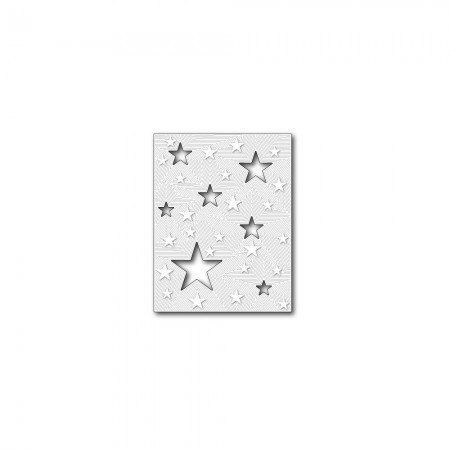 Dies fra Memory Box Die - All Star Detail Plate