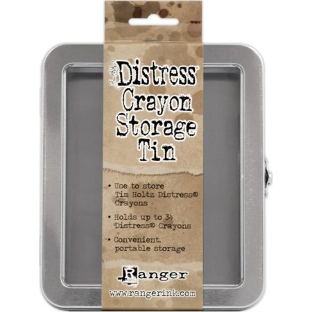 Tim Holtz Distress - Crayon Tin - Empty - TDA56485