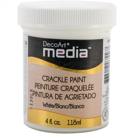 Deco Art-Media Crackle Paint White - Hvid