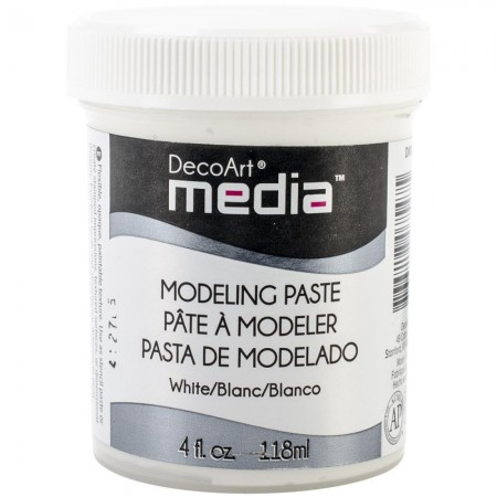 Deco Art-Media Modeling Pasta - White/Hvid