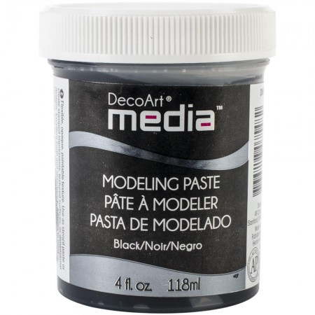 Deco Art-Media Modeling Pasta - Black/Sort