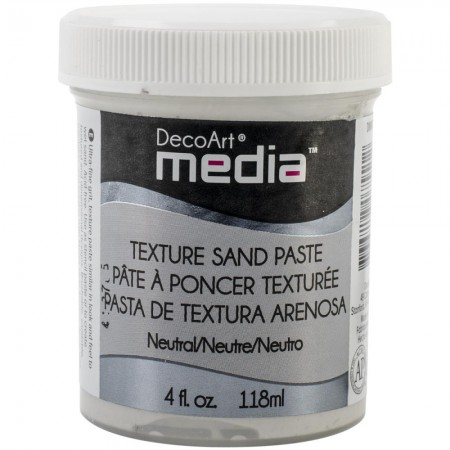 Deco Art-Media Texture Sand Paste - Neutral
