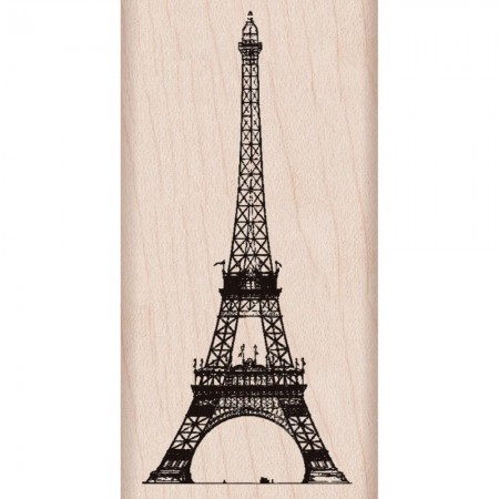 Hero Arts - Wood Mounted Rubber Stamps - Eiffel Tower