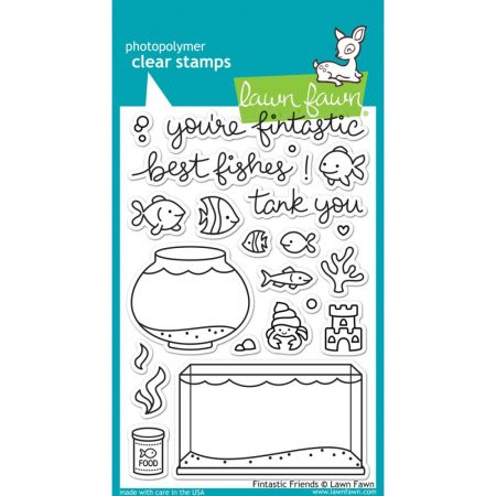 Lawn Fawn Clear Stamps – Fintastic Friends