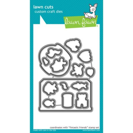Lawn Fawn – Custom Craft Die – Fin-Tastic Friends - LF892