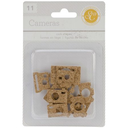 Studio Calico -Cork Shapes Cameras