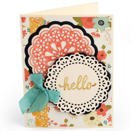 Sizzix - Thinlits - Hello Doily