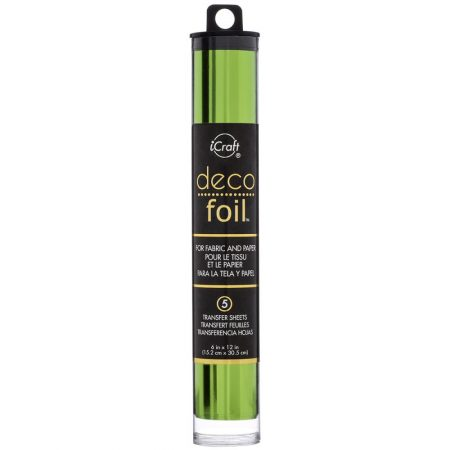 ICraft - Deco Foil - Spring Green
