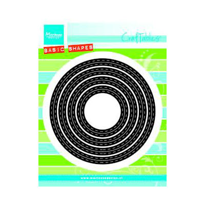 Marianne Design - cut & Embossing - Stitched Circles
