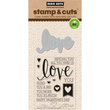 Hero Arts – Stamp & Cuts - Love