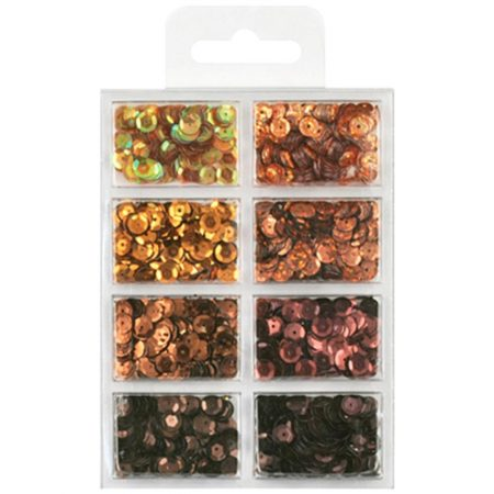 Cup Sequin Kit - Box Of Chocolate
