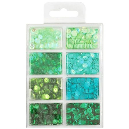 Cup Sequin Kit - Go Green